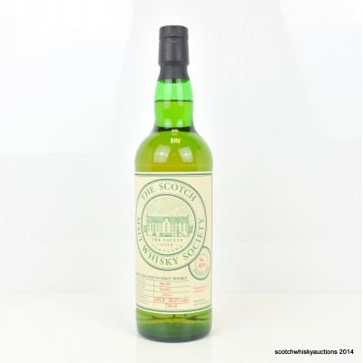 SMWS 83.9 Convalmore 1981 22 Year Old