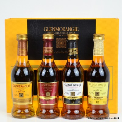 Glenmorangie The Pioneering Collection Taster Pack 4 x 10cl