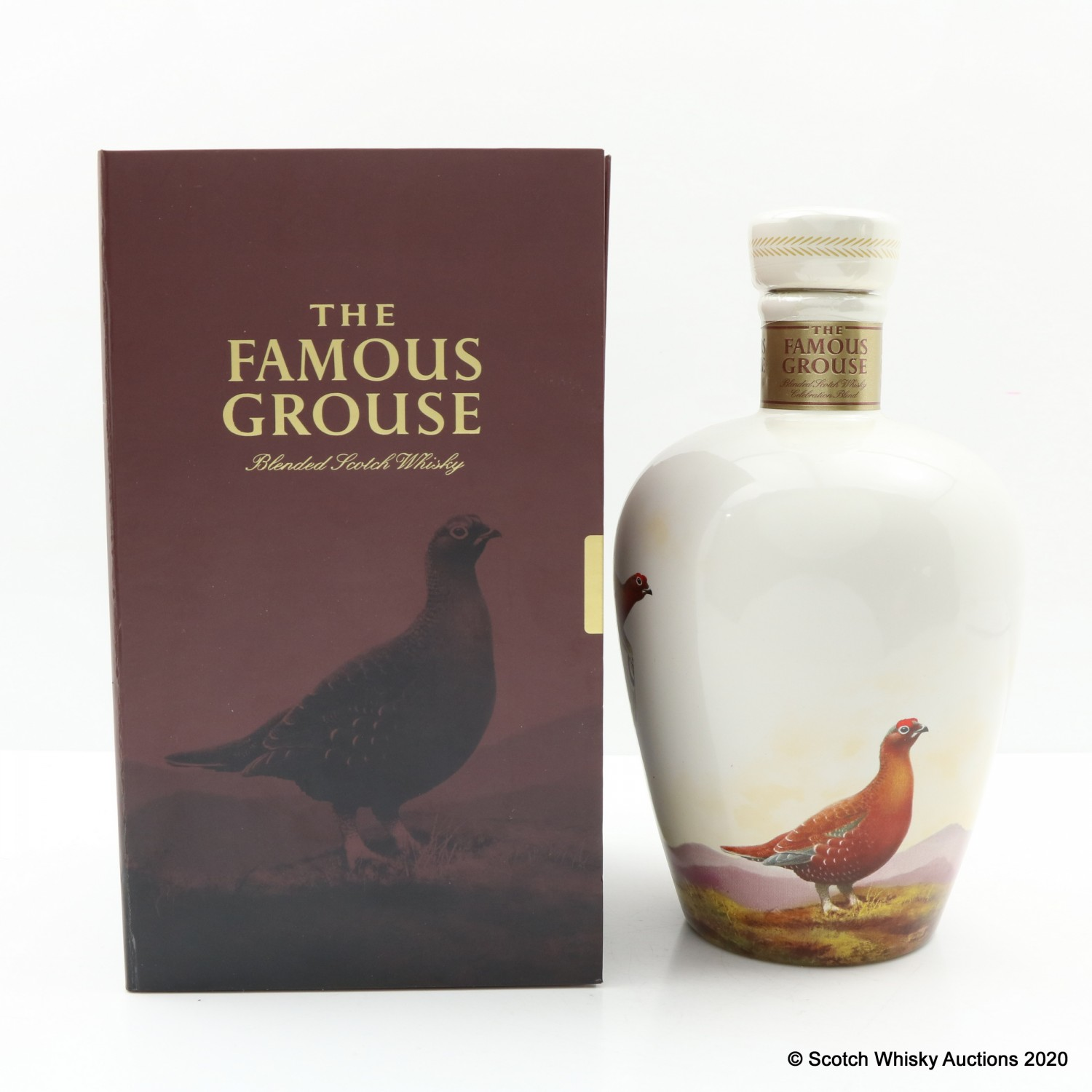 Famous Grouse Celebration Blend - Wade Decanter : The