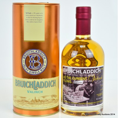 Bruichladdich Valinch As The Current Flows 50cl