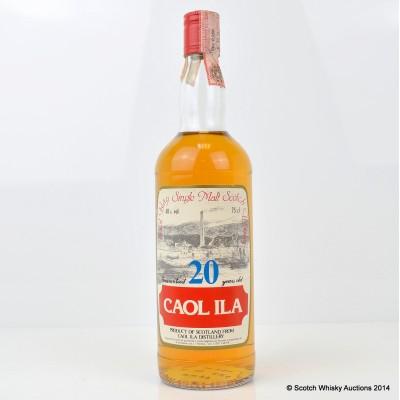 Caol Ila 20 Year Old Sestante Bottling 75cl