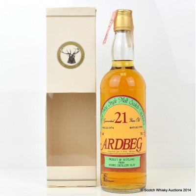 Ardbeg 1974 21 Year Old Sestante Bottling
