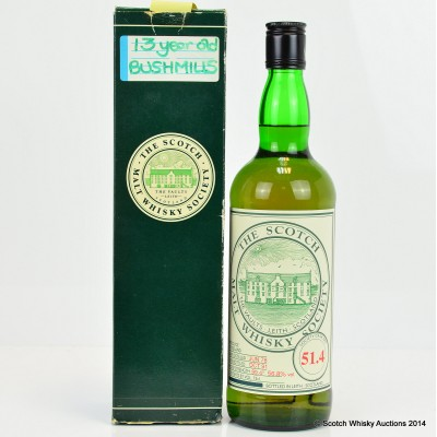 SMWS 51.4 Bushmills 1978 13 Year Old 75cl