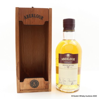 Aberlour 12 Year Old Bourbon Cask Distillery Exclusive