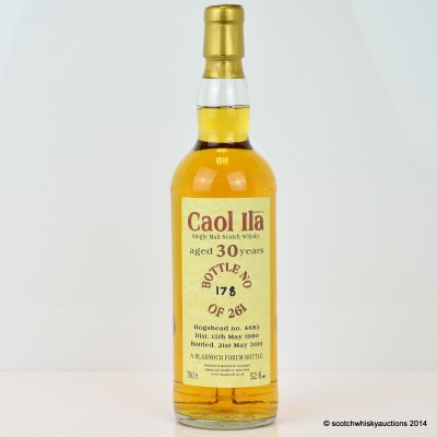 Caol Ila 1980 30 Year Old Bladnoch Forum