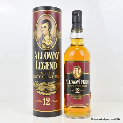 Alloway Legend 12 Year Old