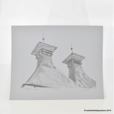 Ardbeg Pagodas Pen & Pencil Ian Gray