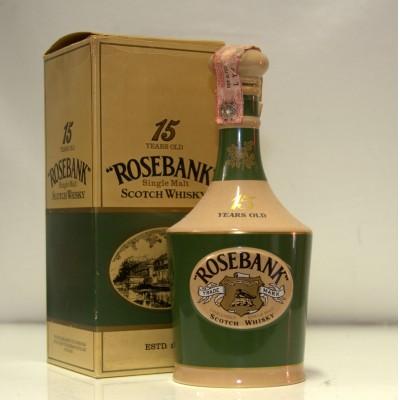 Rosebank 15 years old decanter