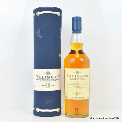 Talisker 10 Year Old In Canvas Tube
