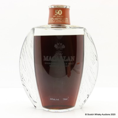 Macallan 50 Year Old Lalique - Six Pillars Collection 75cl