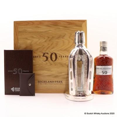 Highland Park 1964 50 Year Old Bottle Number 8