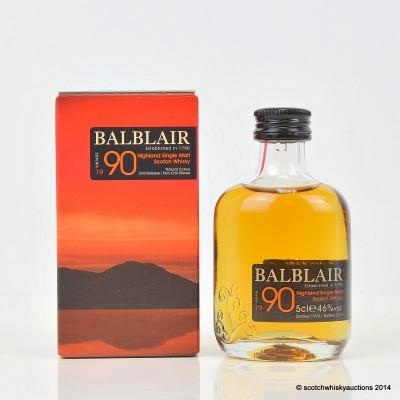 Balblair 1990 Mini 5cl