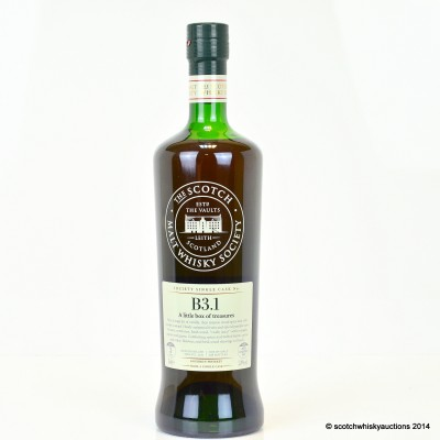 SMWS B3.1 Rock Town 2011 3 Year Old