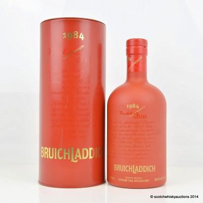 Bruichladdich Redder Still 1984 22 Year Old