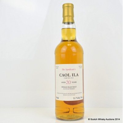 Caol Ila 1990 20 Year Old The Syndicate
