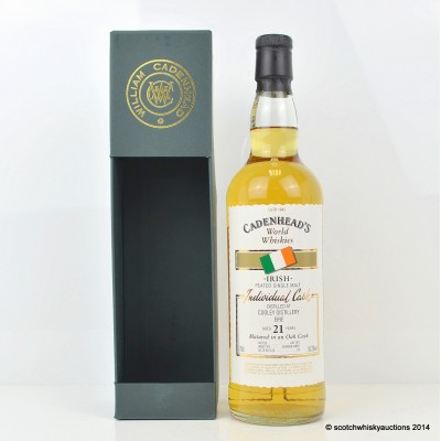 Cadenhead's Cooley 2013 21 Year Old