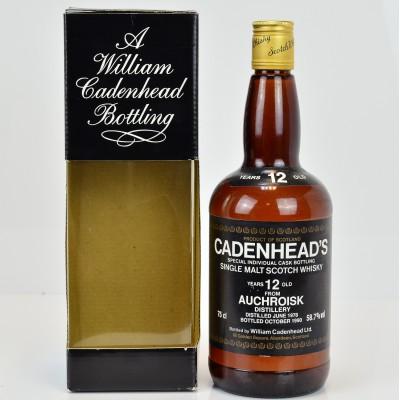 Cadenhead's Auchroisk 1978 12 Year Old 75cl
