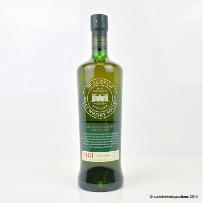 SMWS 30.81 Glenrothes 23 Year Old The Tasting Panel's Choice 2014