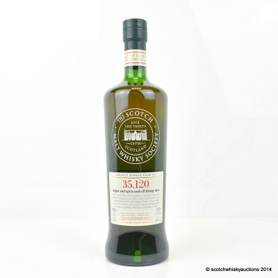 SMWS 35.120 Glen Moray 2001 12 Year Old