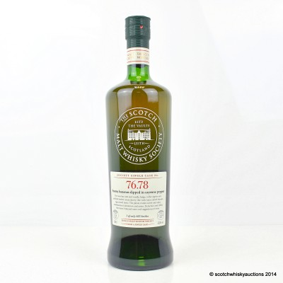 SMWS 76.78 Mortlach 15 Year Old