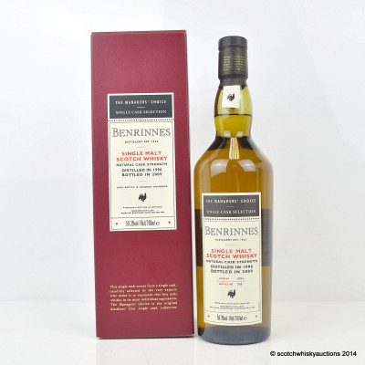 The Managers' Choice Benrinnes 1996