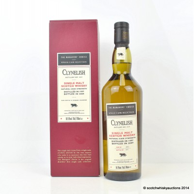 The Managers' Choice Clynelish 1997