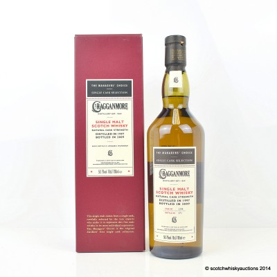 The Managers' Choice Cragganmore 1997