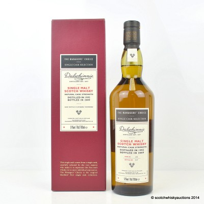 The Managers' Choice Dalwhinnie 1992