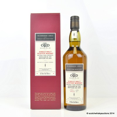The Managers' Choice Glen Ord 1997