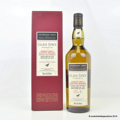 The Managers' Choice Glen Spey 1996