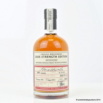 Chivas Brothers Strathisla Cask Strength 1995 19 Year Old 50cl