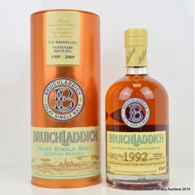 Bruichladdich TB Watson Ltd Centenary Bottling 1992 17 Year Old