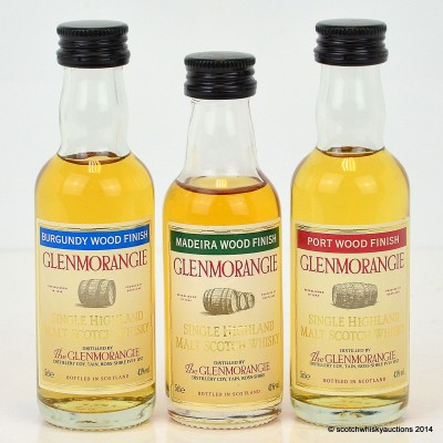 Glenmorangie Wood Finishes Minis 3 x 5cl