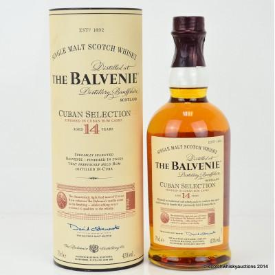 Balvenie Cuban Selection 14 Year Old