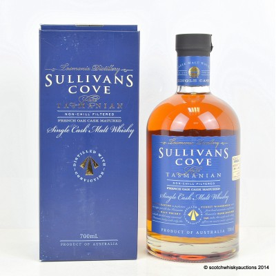 Sullivan's Cove French Oak Cask