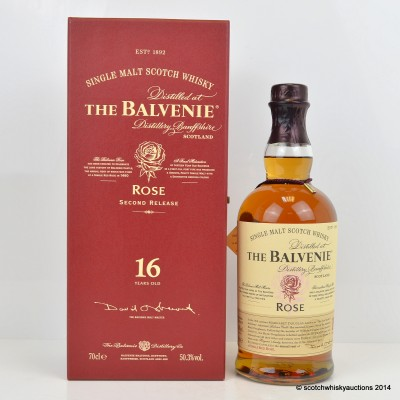 Balvenie Rose 16 Year Old 2nd Release