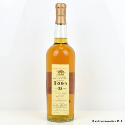 Brora 35 Year Old 2012 75cl Release