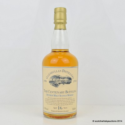 Glendullan Centenary Bottling 16 Year Old