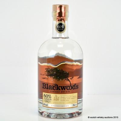 Blackwoods Vintage 2012 Gin