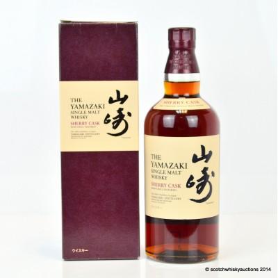 Yamazaki Sherry Cask 2009 Release 1st Edition