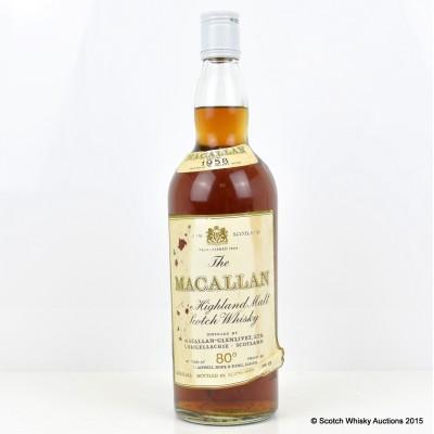 Macallan 1958 80° Proof 26 2/3 Fl Oz