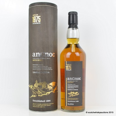 anCnoc 1975 30 Year Old Limited Edition