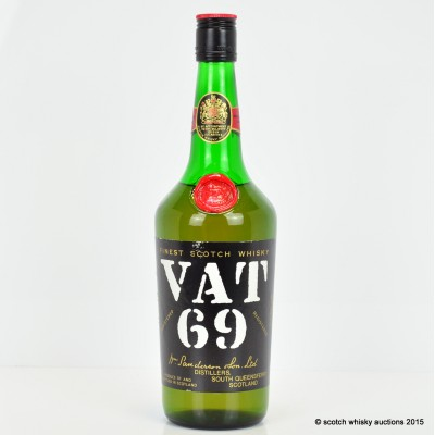 VAT 69 26 2/3 Fl Oz