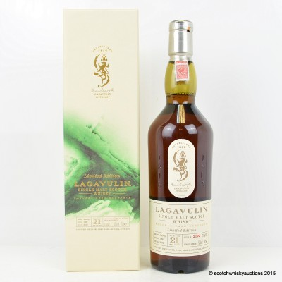 Lagavulin 21 Year Old 2012 Release