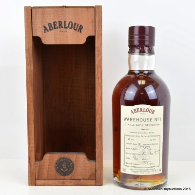 Aberlour Warehouse No 1 Single Sherry Cask Selection 16 Year Old