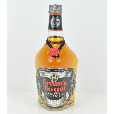 Grant's Royal 12 Year Old 75cl US Import