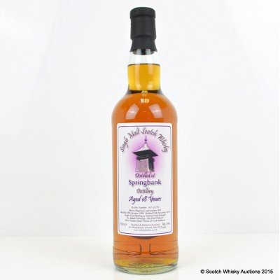Springbank 1996 18 Year Old Whisky Broker