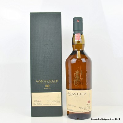 Lagavulin 30 Year Old 2006 Release