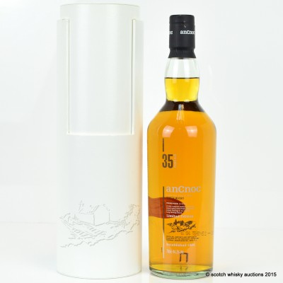 AnCnoc 35 Year Old Limited Edition