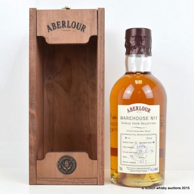 Aberlour Warehouse No 1 Single Bourbon Cask Selection 1996 14 Year Old